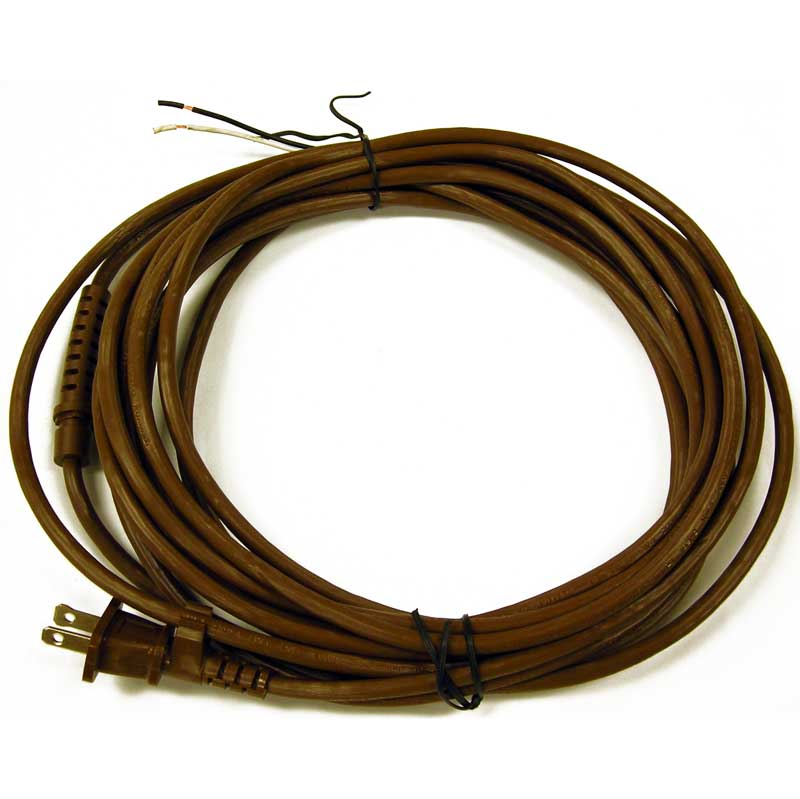 Rexair Replacement 25 Foot 2 Wire D4 Brown Main Power with Grommet ...
