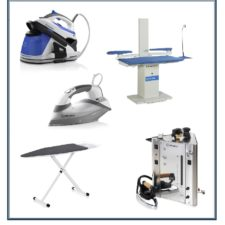 Irons, Ironing Boards and Stations
